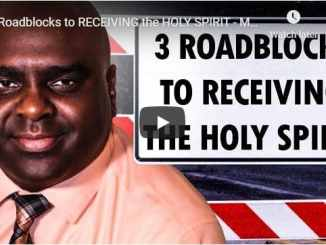 Sean Pinder - 3 Roadblocks To Receiving The Holy Spirit