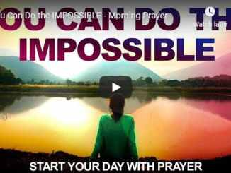 Sean Pinder Morning Prayer - You Can Do the IMPOSSIBLE - 2020