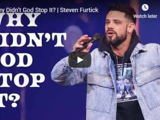 Steven Furtick - Why Didn't God Stop It