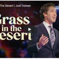 Joel Osteen Sermon - Grass In The Desert - October 26 2020