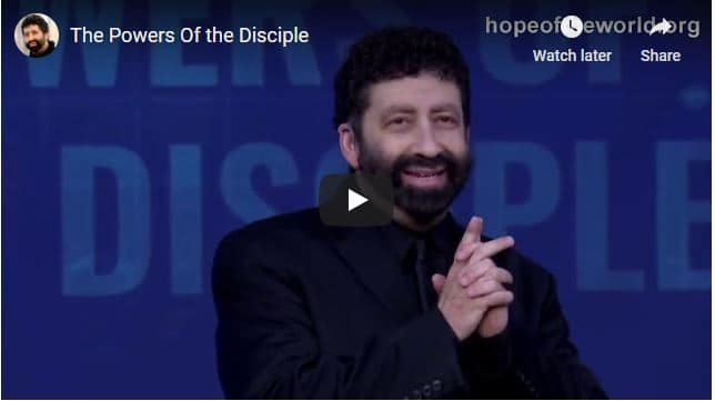 Jonathan Cahn - The Powers Of the Disciple