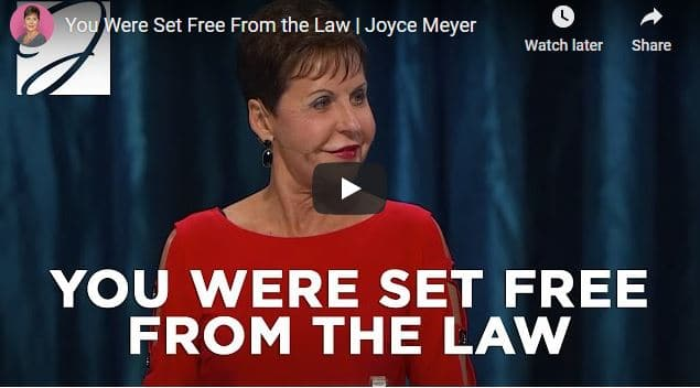 Joyce Meyer - You Were Set Free From the Law
