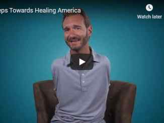 Nick Vujicic Message - Steps Towards Healing America