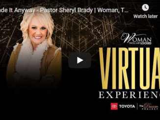 Sheryl Brady - Made It Anyway - Woman Thou Art Loosed