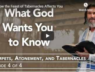 Rabbi Kirt Schneider - How the Feast of Tabernacles Affects You