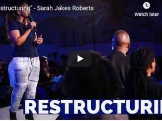 Sarah Jakes Roberts - Restructuring