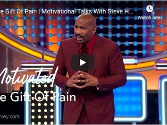 Steve Harvey Motivational Talks - The Gift Of Pain