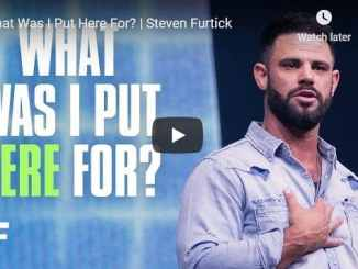Steven Furtick Sermon - What Was I Put Here For
