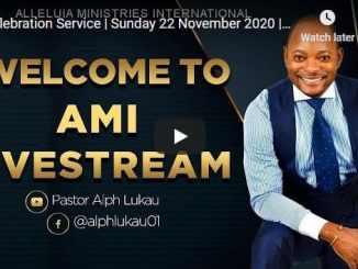 Alph Lukau Sunday Live Service November 22 2020