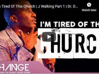 Dharius Daniels Sermon - I'm Tired Of This Church