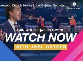 Joel Osteen Sunday Live Service November 22 2020