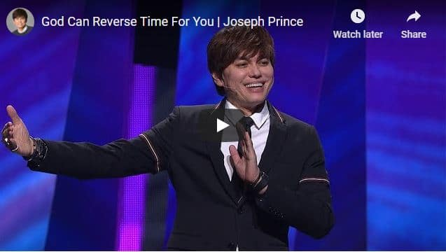 Joseph Prince Sermon - God Can Reverse Time For You