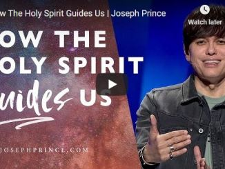 Joseph Prince Sermon - How The Holy Spirit Guides Us