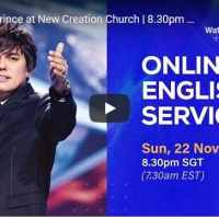 Joseph Prince Sunday Live Service November 22 2020 At New Creation
