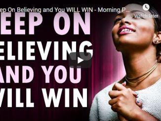 Pastor Sean Pinder Morning Prayer November 17 2020