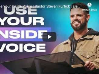 Pastor Steven Furtick Sermon - Use Your Inside Voice