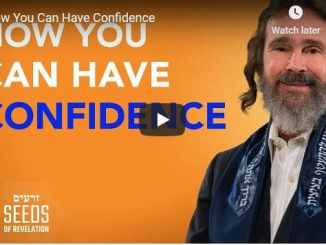 Rabbi Schneider Sermon - How You Can Have Confidence