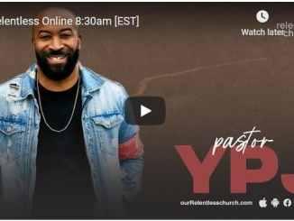Relentless Church Sunday Live Service November 1 2020