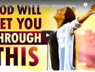 Sean Pinder Morning Prayer November 19 2020