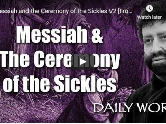 Jonathan Cahn - Messiah and the Ceremony of the Sickles