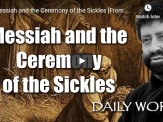 Jonathan Cahn Sermon - Messiah and the Ceremony of the Sickles
