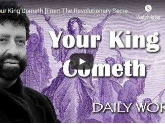 Jonathan Cahn Sermon - Your King Cometh