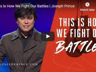 Pastor Joseph Prince Sermon - This Is How We Fight Our Battles