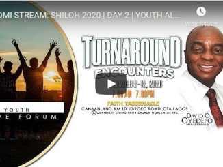 Shiloh 2020 - Day 2 - Turnaround Encounters - December 2020