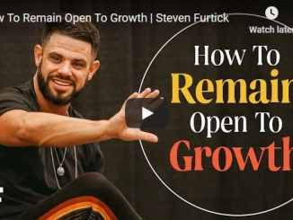 Steven Furtick Sermon - How To Remain Open To Growth