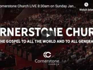 Cornerstone Church Sunday Live Service January 24 2021