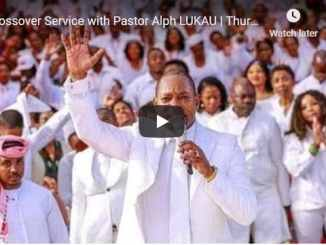Crossover Service With Pastor Alph Lukau December 31 2020