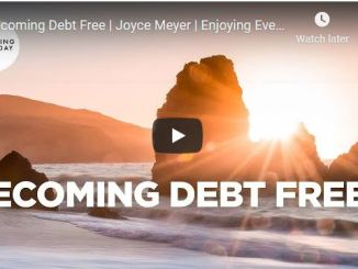 Joyce Meyer Message - Becoming Debt Free