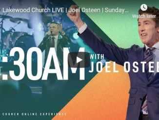 Lakewood Church Sunday Live Service January 17 2021
