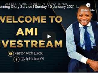 Pastor Alph Lukau Sunday Live Service January 10 2021