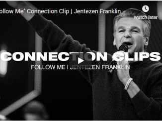 """Pastor Jentezen Franklin Sermon - """"Follow Me"""" Connection Clip"""