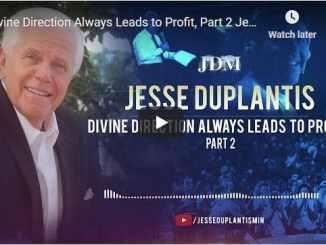 Pastor Jesse Duplantis Sermon - Divine Direction Always Leads to Profit