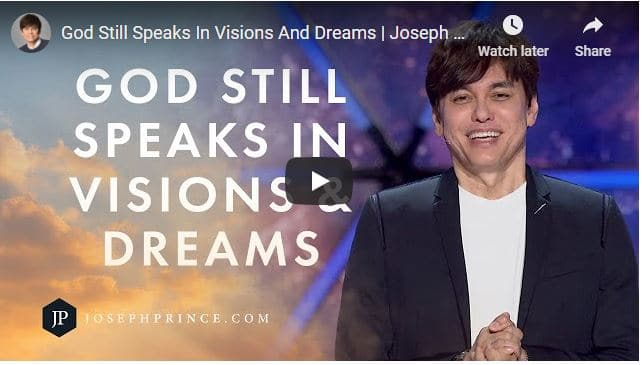 Pastor Joseph Prince Sermon - God Still Speaks In Visions And Dreams