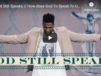 Pastor Michael Todd Sermon - God Still Speaks