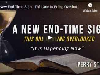 Pastor Perry Stone Message - A New End Time Sign