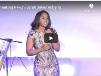 Pastor Sarah Jakes Roberts Message - Breaking News