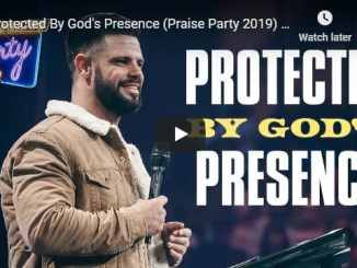 Pastor Steven Furtick Sermon - Protected By God's Presence
