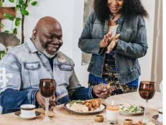 Latest New Pictures of Bishop TD Jakes and his wife Serita Jakes