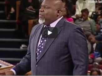Bishop TD Jakes Sermon - The Currency of Faith