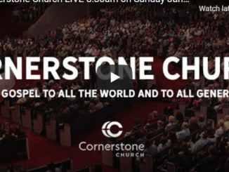 Cornerstone Church Sunday Live Service February 14 2021