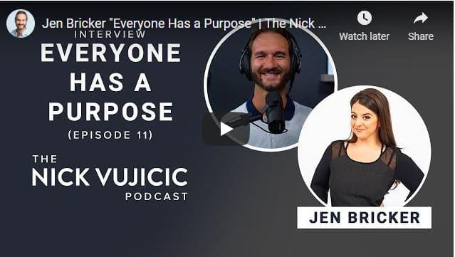 Nick Vujicic & Jen Bricker - Everyone Has a Purpose
