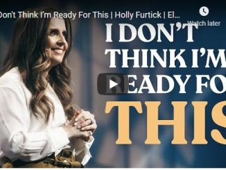Pastor Holly Furtick Message - God has prepared you