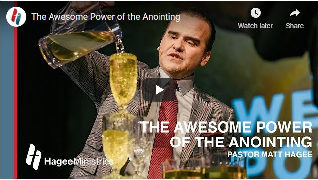 Pastor Matt Hagee Sermon - The Awesome Power of the Anointing