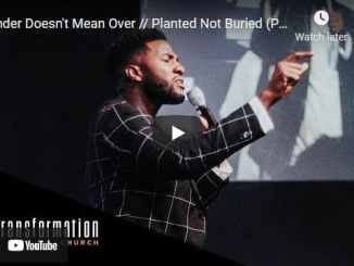 Pastor Michael Todd Sermon - Under Doesn't Mean Over