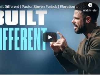 Pastor Steven Furtick Sermon - Built Different