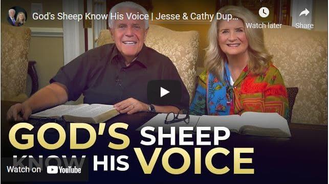 Jesse & Cathy Duplantis - God's Sheep Know His Voice